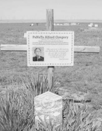 Shawnee royalty buried at local Plain View Cemetery