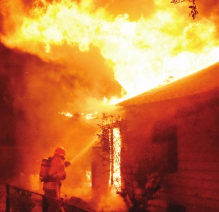 Drug users ignite fire in vacant house