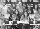 Garcia inks scholarship to keep playing softball