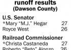 Hegar, Castaneda win primary runoff races